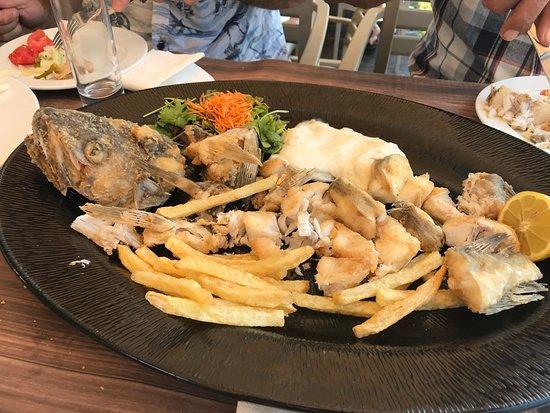 PARIS Restaurant: the fresh cod....yum