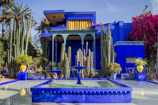 Jardin Majorelle Picture Of Viajes Marruecos Fes Tripadvisor