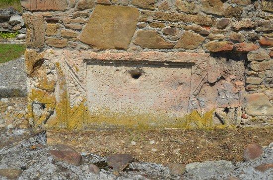 Dormition of the Theotokos Church: Strei Church - Roman sarcophagus fragment