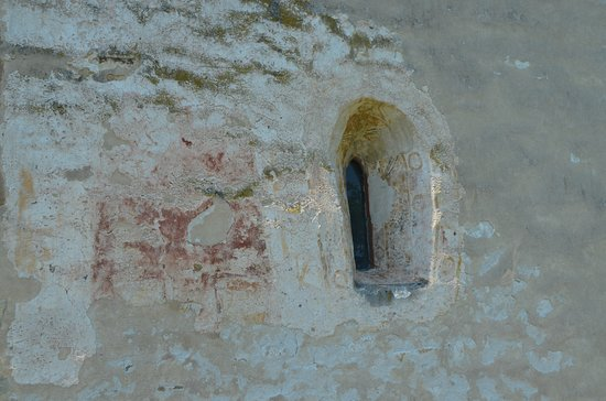 Dormition of the Theotokos Church: Strei Church - Outside painting