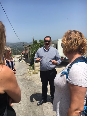 The 7 Villages of Apokoronas Tour – Explore East Chania Mainland: Dimitri, our guide.