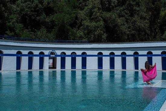 Telese Terme, Italy: Piscina Goccioloni