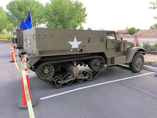Nevada State Railroad Museum : Memorial Day Display