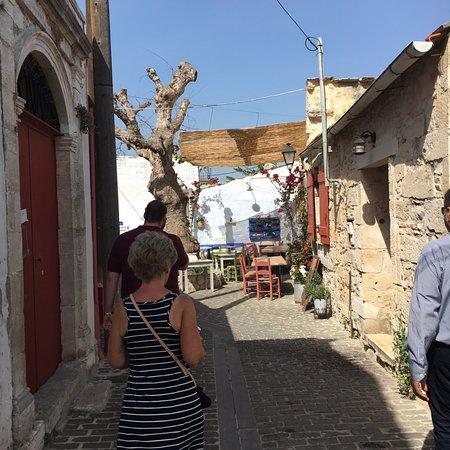 The 7 Villages of Apokoronas Tour – Explore East Chania Mainland: Walking through one of the 7 villages.