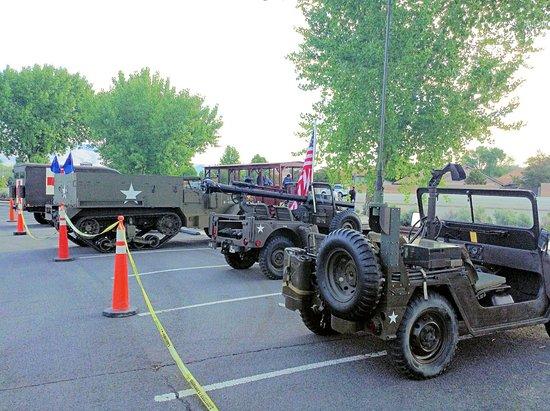Nevada State Railroad Museum: Memorial Day Display