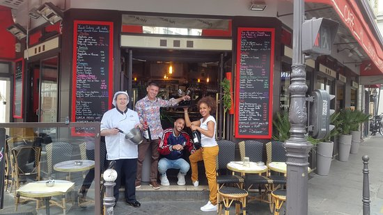 Cafe La Colonnade: LE STAFF