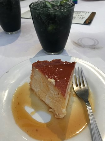 Ipanema: Goat's cheese cheesecake