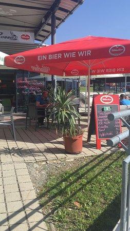 Café Sofa Rosso: Terrassenbereich