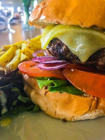 West Lothian, UK: Pentland View Burger