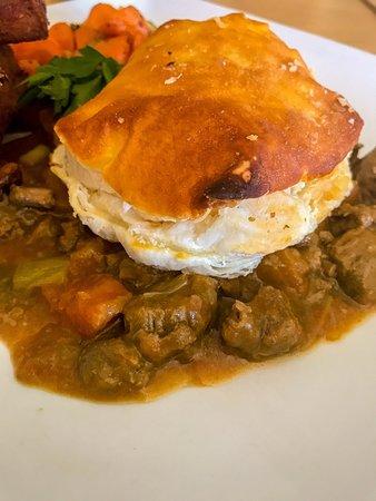 West Lothian, UK: Steak Pie