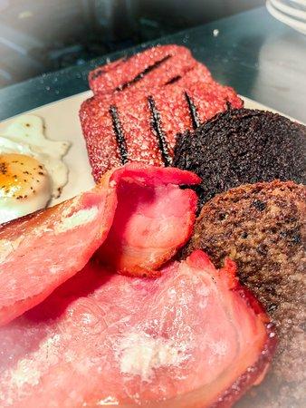 West Lothian, UK: 8 item breakfast