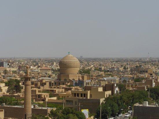 Meybod, Iran: Panorama città di Narein