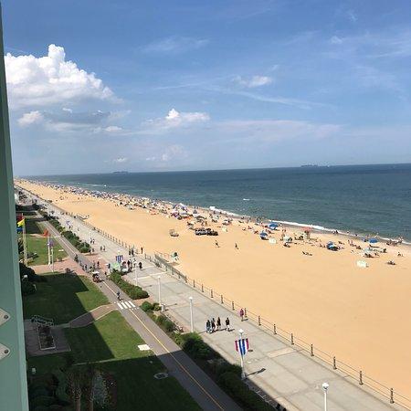 弗吉尼亚海滩散步道照片