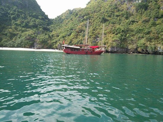 Vintage Junks: Catba Sailing Junks