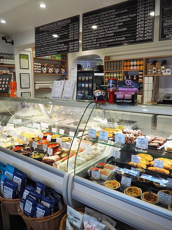 Inside The Salcombe Delicatessen