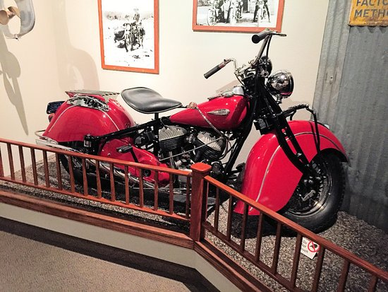 Nevada State Museum: Motorcycles
