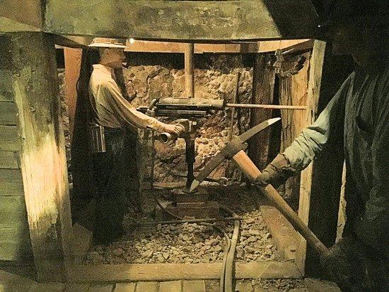 Nevada State Museum: Mine Basement