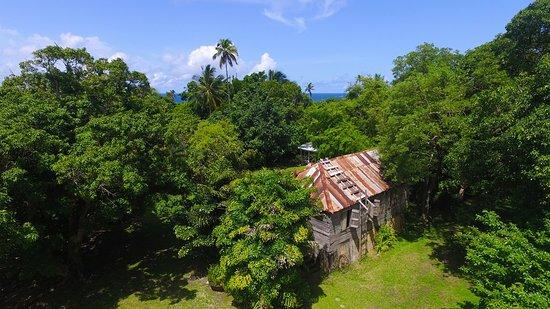 Laborie, Sta. Lucía: Historic yoga barn