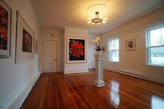 Art gallery located within Sea Street Inn, Hyannis, MA