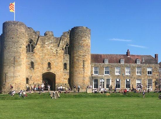 Tonbridge Castle: From the lawn area