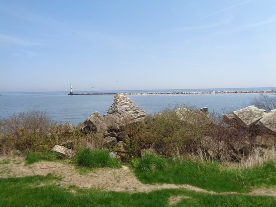 Coal Dock Park: The breakwater