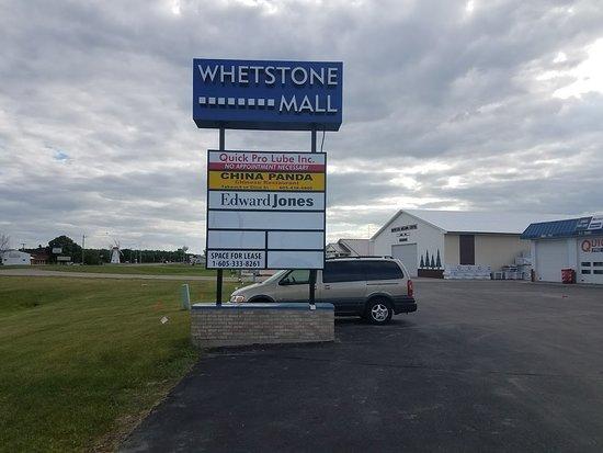 Milbank, Dakota do Sul: Entrance Welcome Sign.