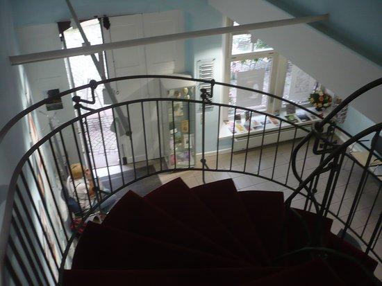 Garten des Gedenkens: Im Museum.