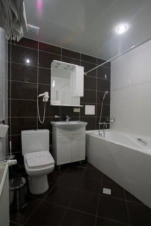 Premier Hotel Shafran: Shafran: small bathroom