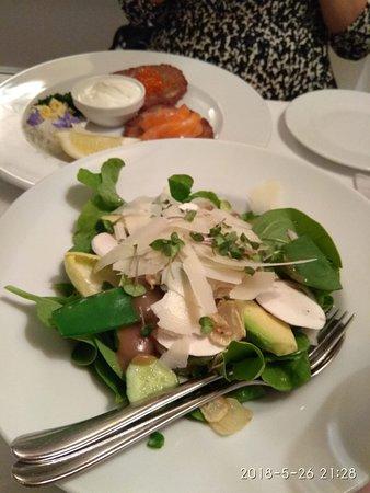 Polska Rozana: green salad