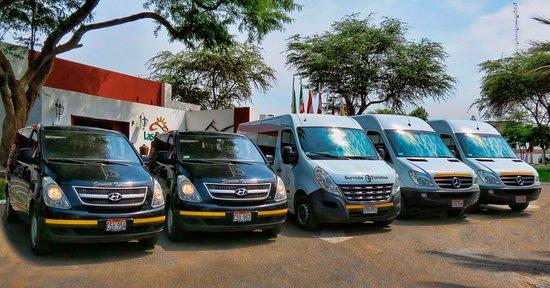 Buganvilla Tours: Movilidades propias - Full Equipo