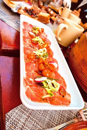Moon Palace Cancun: prosciutto plate at the farm
