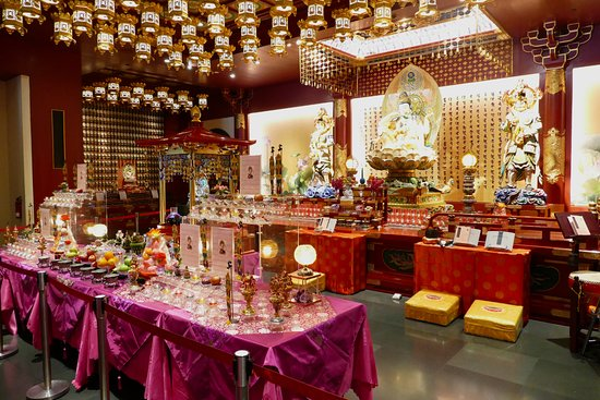 Singapore, Singapore: Buddha Tooth Relic Temple and Museum