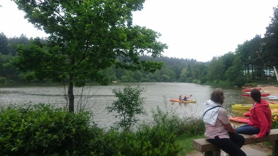 Center Parcs Longleat Forest: The lake