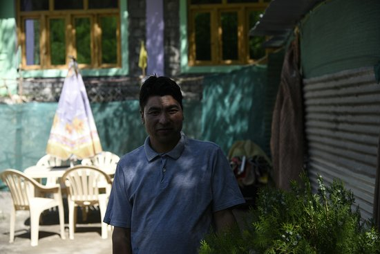 Turtuk, India: Mr Zakaria, owner of the guest house.