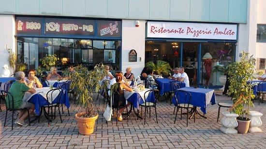 Ristorante Pizzeria da Amleto : L'esterno