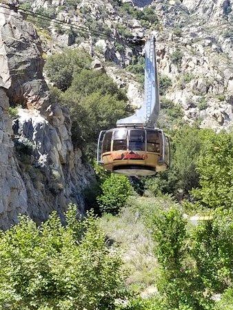 Palm Springs Aerial Tramway: Tram cabin