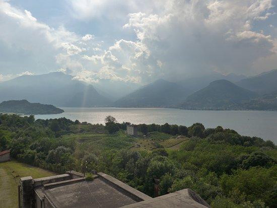 Forte Montecchio Nord : il lago...