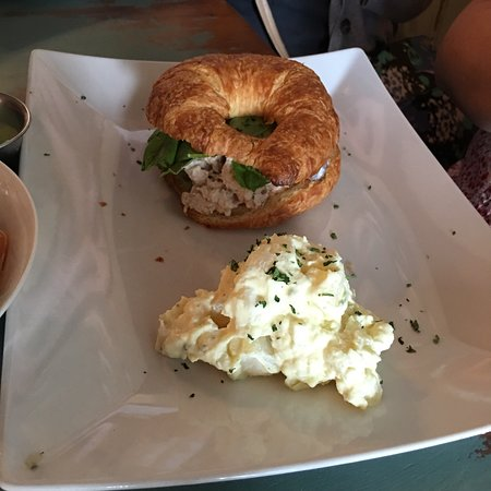 Birdie Bistro: Cute little Bistro. They do serve a lot.  Salads are great too. Quiche and croissants but saw st