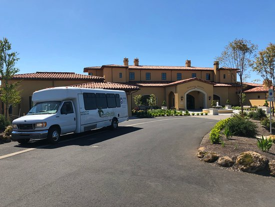 NW Wine Shuttle: Drop off at Domaine Serene