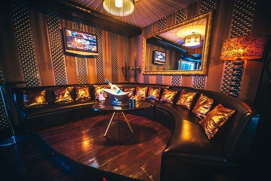 Lolita Lounge & Bar: Gran capacidad de reservados