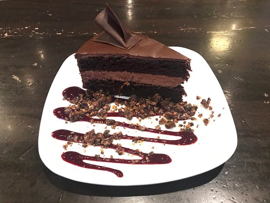 French Broad Chocolate Lounge: Olive Oil Chocolate Cake