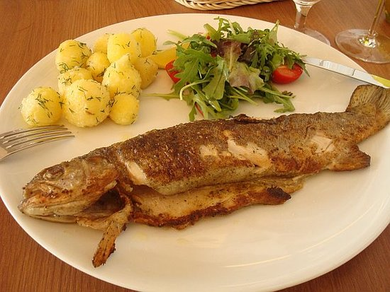 Nobile Restaurant: Une bonne truite