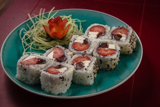 Kyo Japanese Food: Uramaki Romeu e Julieta