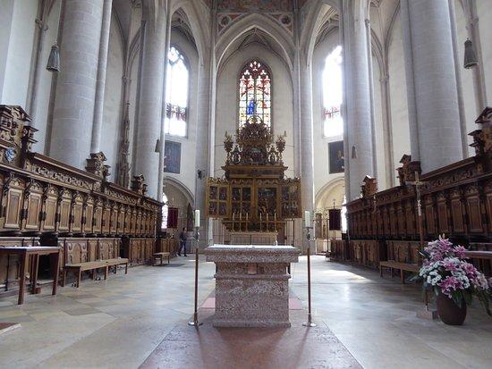 Liebfrauenmuenster: Church Interior