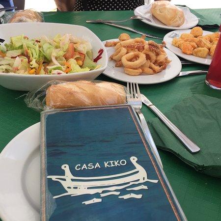 Casa Kiko : El mejor lugar de Málaga para comer pescado. A parte de la calidad, lo mejor el precio. Siempre