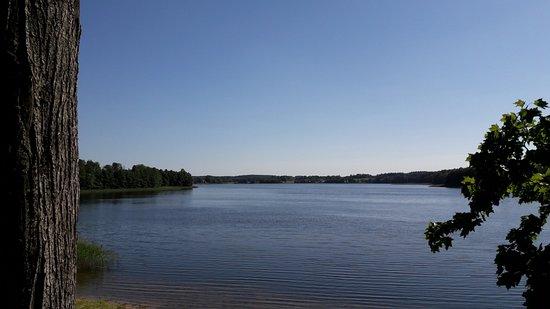 Sejny, Poland: Nad brzegiem Jeziora Hołny