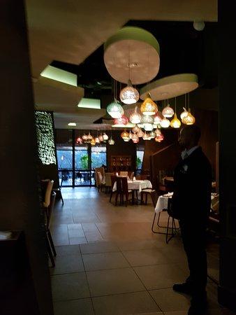 Baobab Cafe: Lights