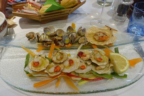 Ristorante Marinara: Dreierlei von Muscheln