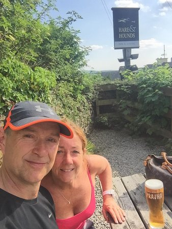 "Levens, UK: ""Cheeky"" beer garden"