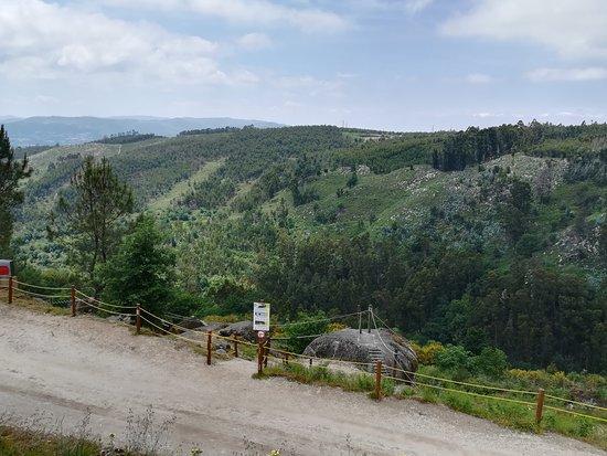 Diver Lanhoso Parque Aventura: Vistas al parque desde el restaurante